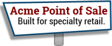 Acme Point of Sale Software